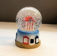 Beach House Nautical Small Snow Globe